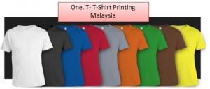 One.T - T-Shirt Printing Malaysia