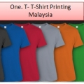 One.T - T-Shirt Printing Malaysia