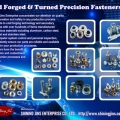 Fasteners  - Customized cold forging CNC Machining Part made in Taiwan
